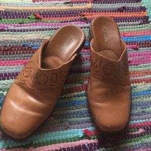 Clark's Western style Clogs